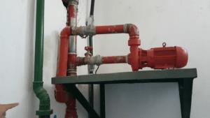 bombas para incêndios alimentam hidrantes e chuveiros automáticos