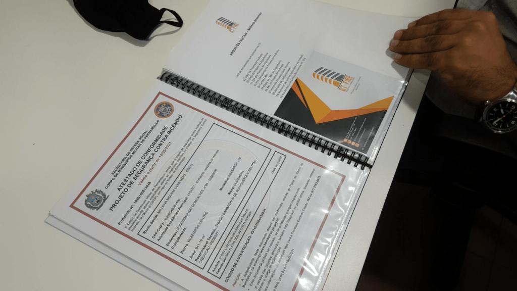 projeto contra incêndio e pânico sobre segurança nas escolas
